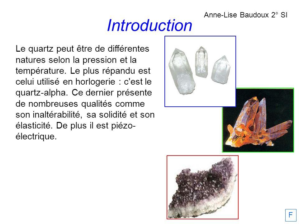 Introduction Anne-Lise Baudoux 2° SI.