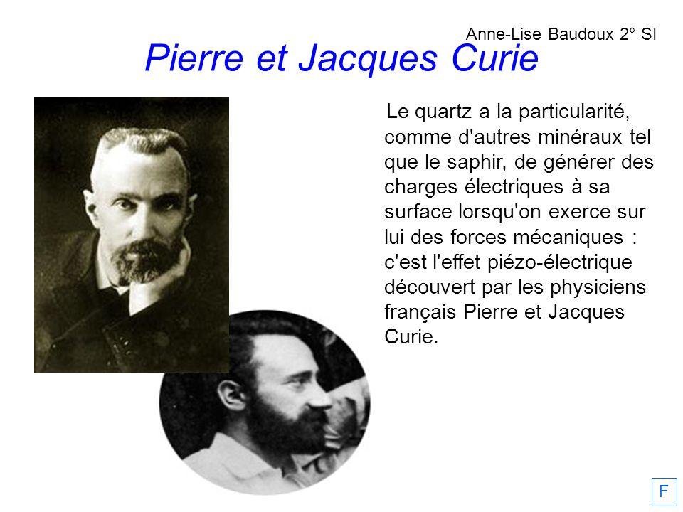 Pierre et Jacques Curie