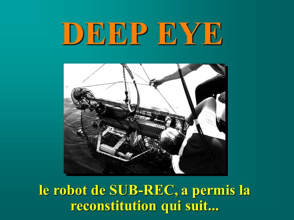 le robot de SUB-REC, a permis la reconstitution qui suit...
