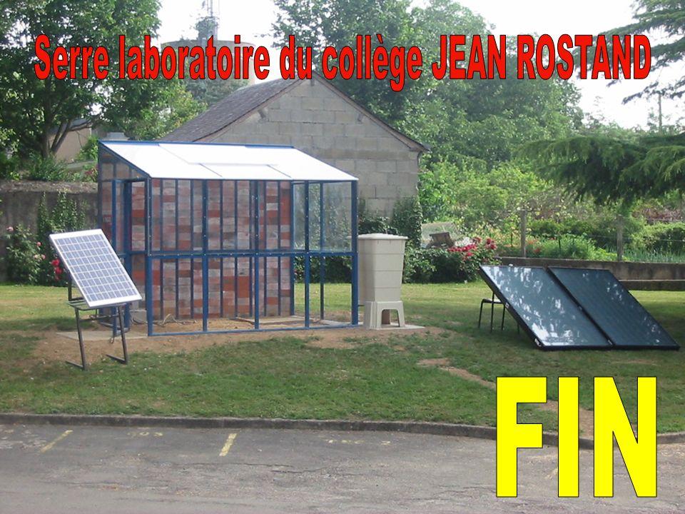 Serre laboratoire du collège JEAN ROSTAND