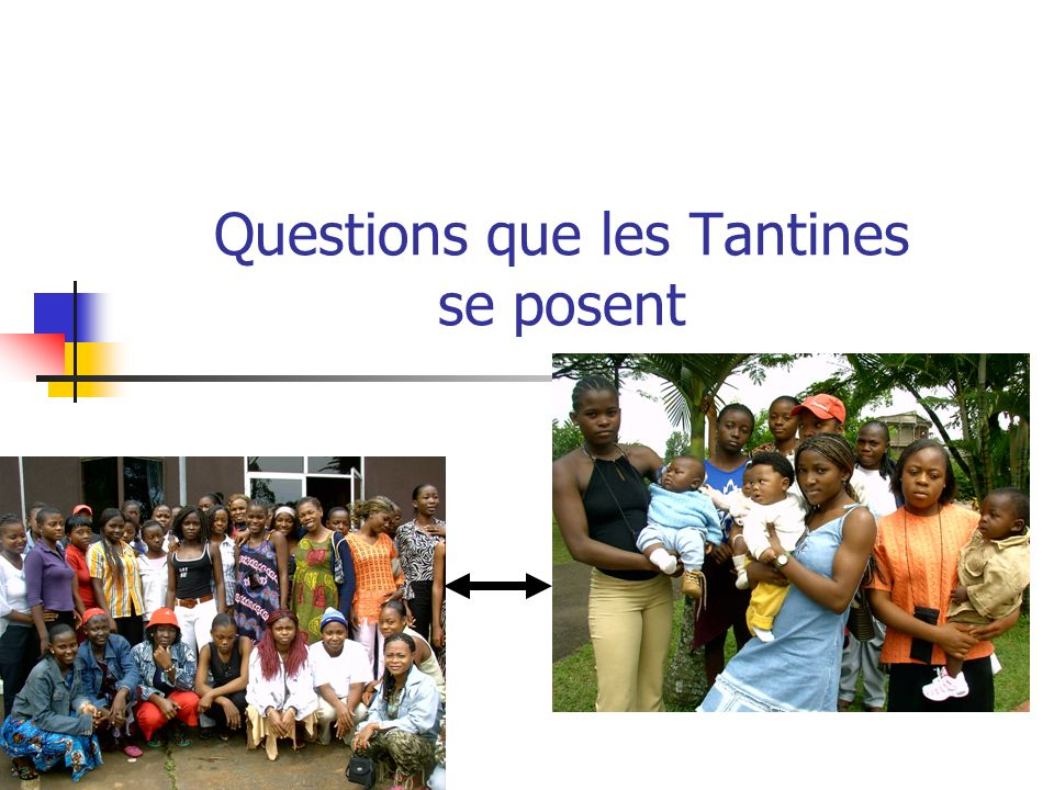 Questions que les Tantines se posent