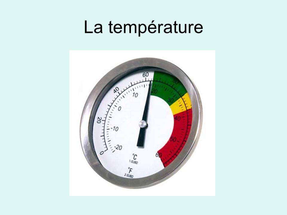 La température