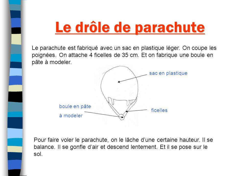 Le drôle de parachute