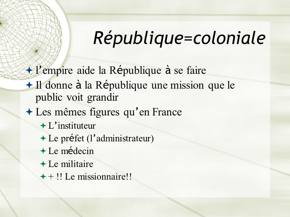 République=coloniale