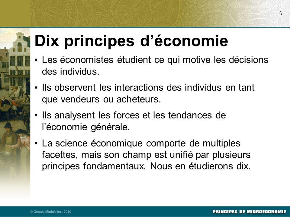 Dix principes d'économie