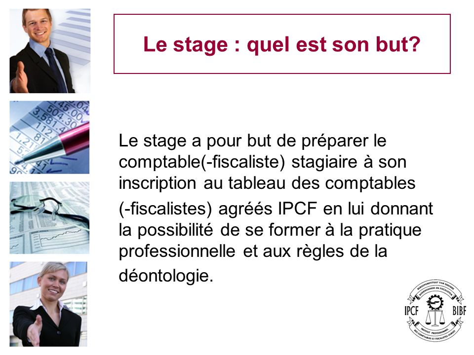 Le stage : quel est son but
