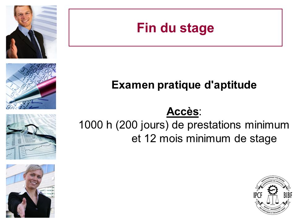 Examen pratique d aptitude