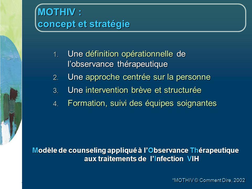 MOTHIV : concept et stratégie