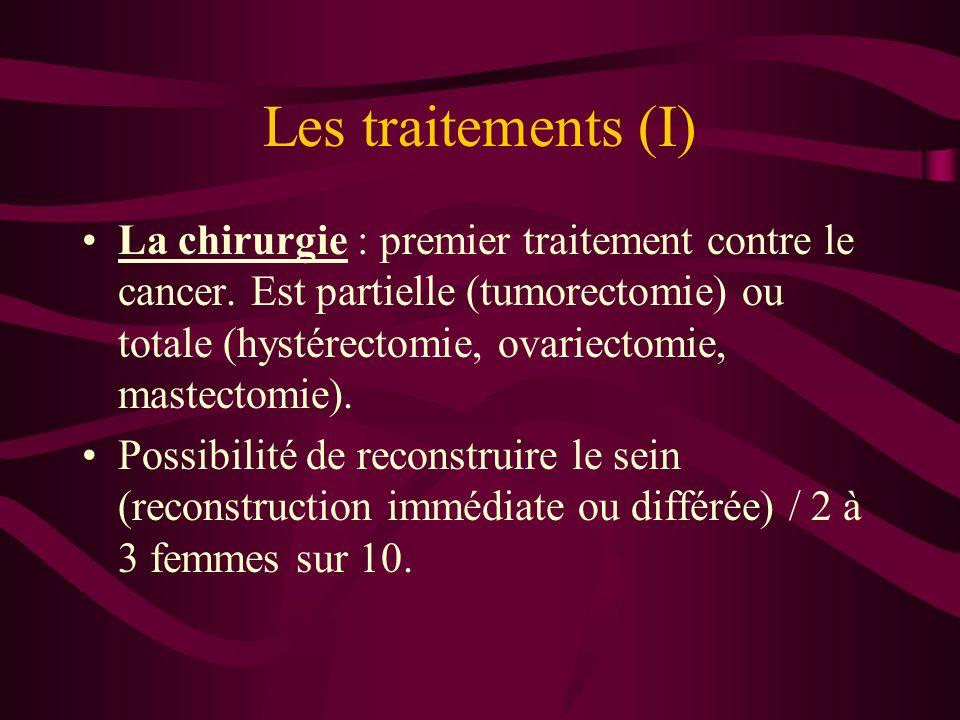 Les traitements (I)