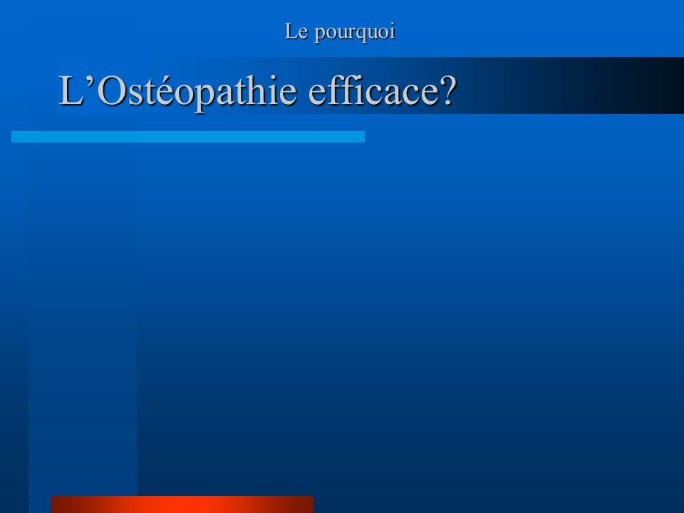 L'Ostéopathie efficace