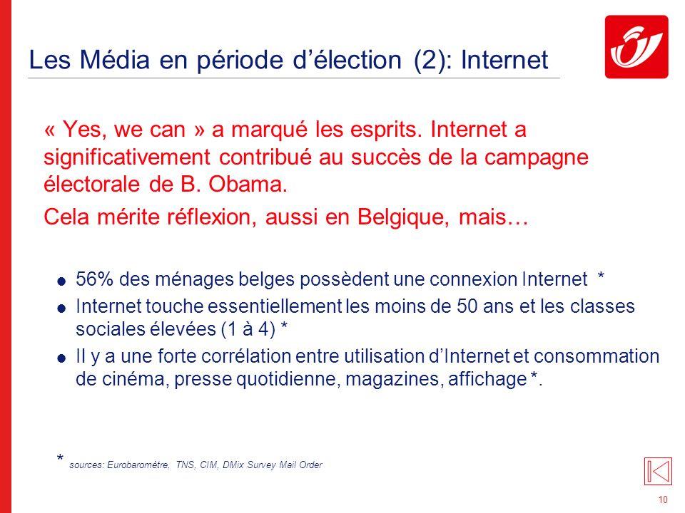 Les Média en période d'élection (3): e-mailing