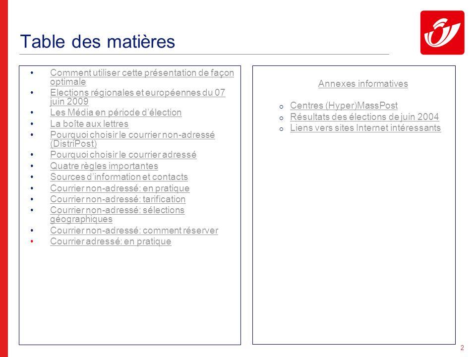 Elections régionales et européennes du 07 juin 2009
