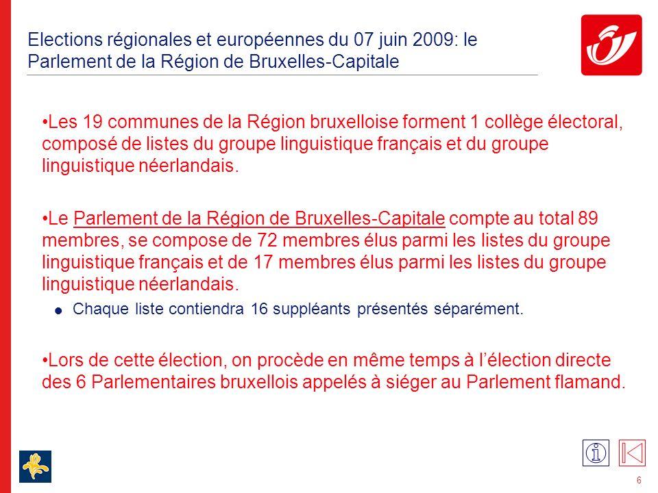 Le Parlement de la Communauté germanophone compte 25 membres.