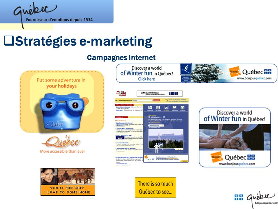 Stratégies e-marketing