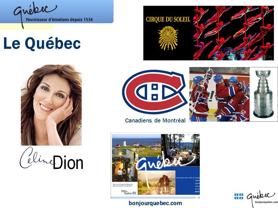 Le Québec Canadiens de Montréal bonjourquebec.com
