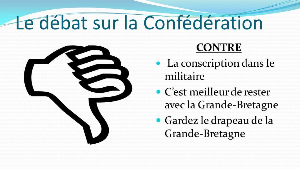 Le débat sur la Confédération