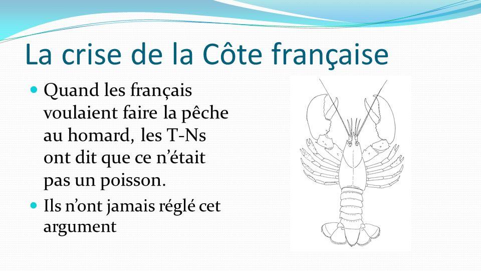 La crise de la Côte française