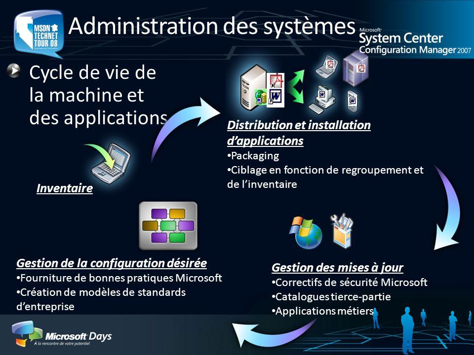 Administration des systèmes
