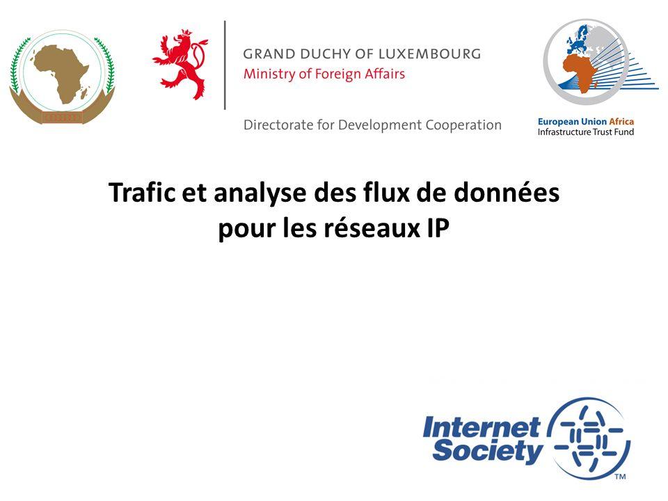 Trafic et analyse des flux de données pour les réseaux IP