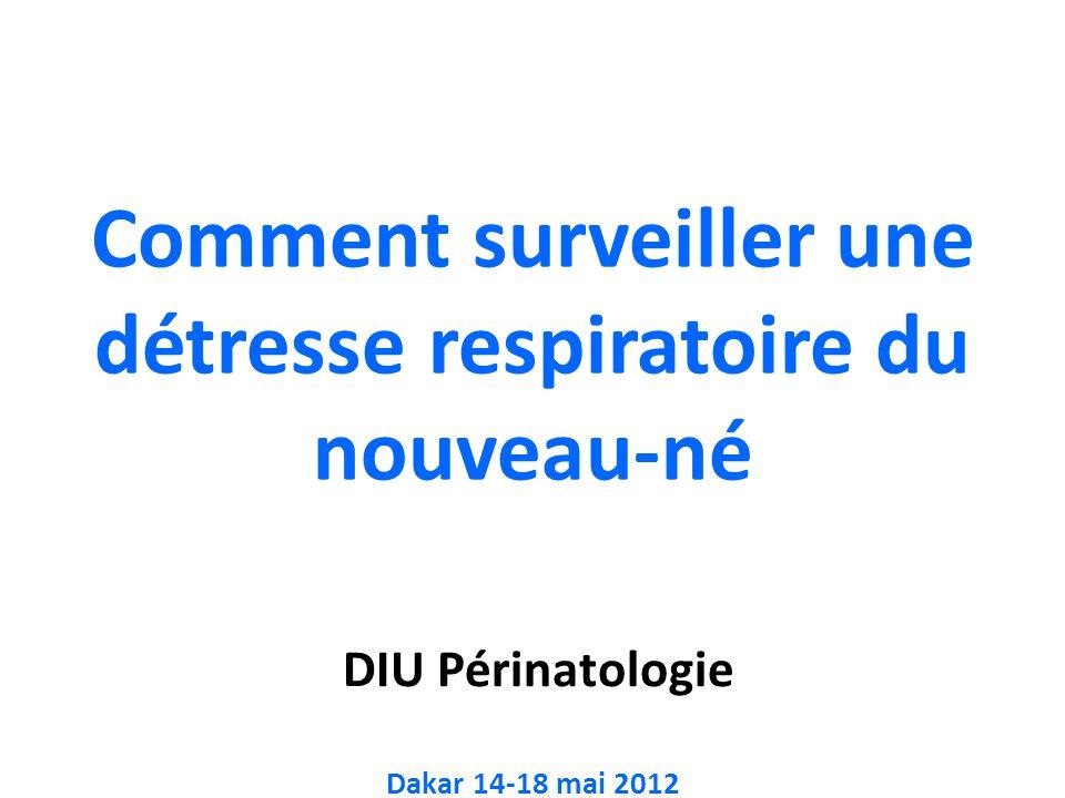 DIU Périnatologie Dakar 14-18 mai 2012