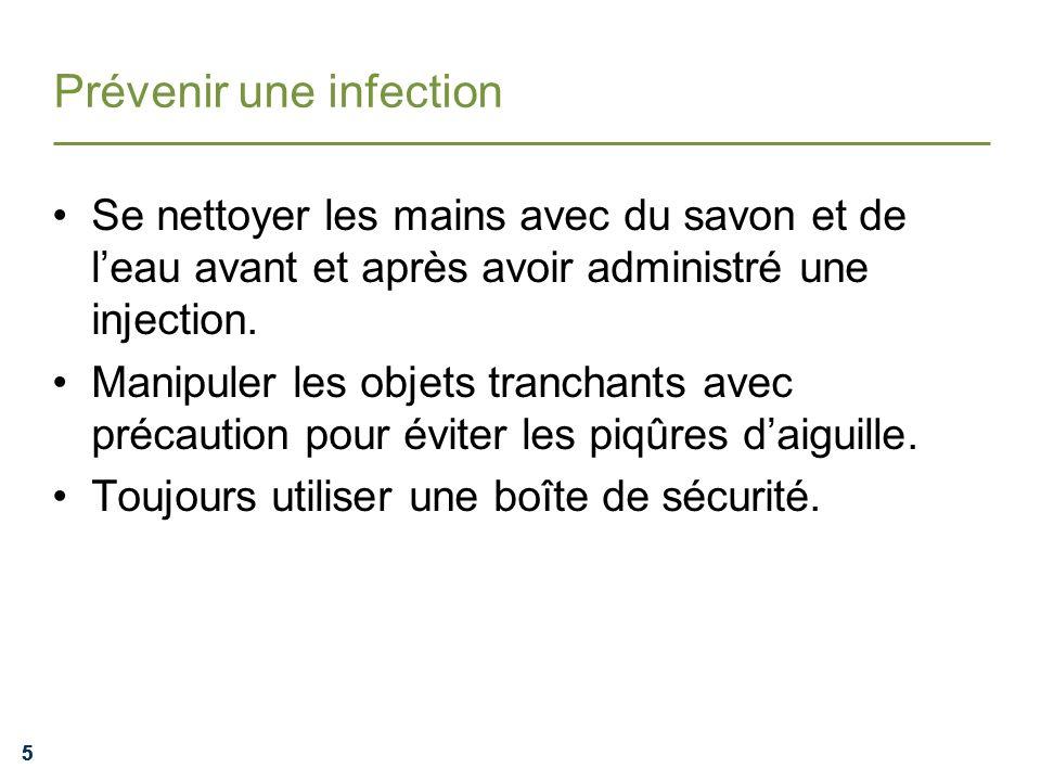 Prévenir une infection