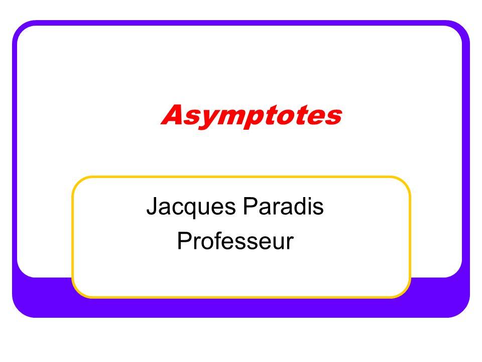 Jacques Paradis Professeur