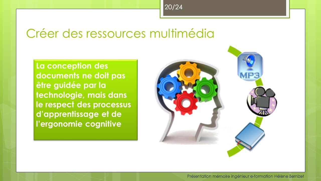 Créer des ressources multimédia
