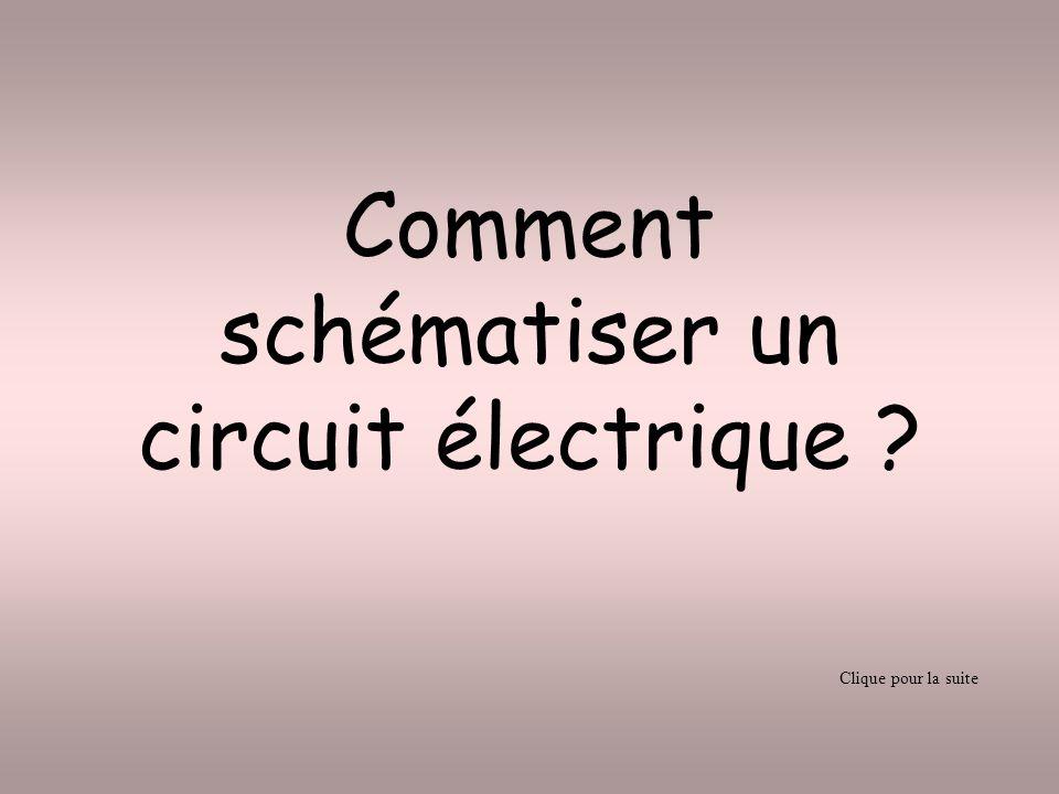 Comment schématiser un circuit électrique