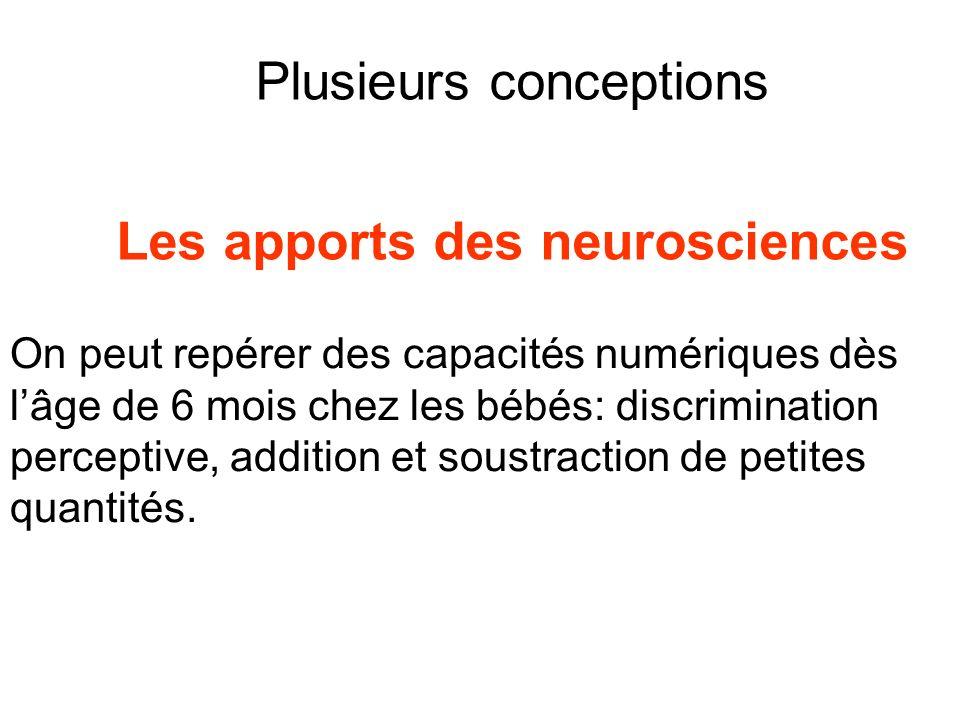 Les apports des neurosciences