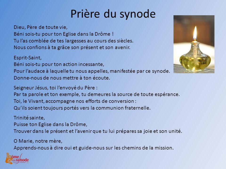 Prière du synode