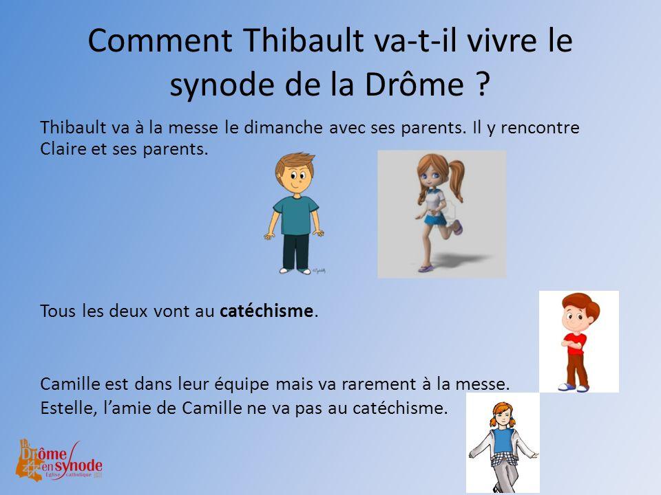Comment Thibault va-t-il vivre le synode de la Drôme