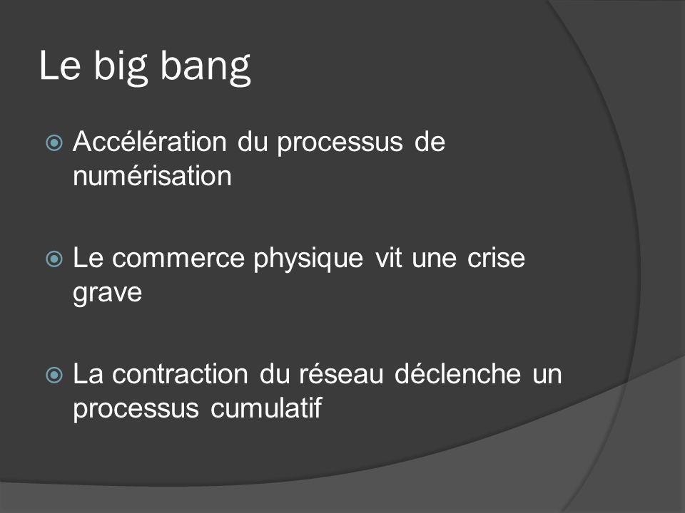 Le big bang Accélération du processus de numérisation