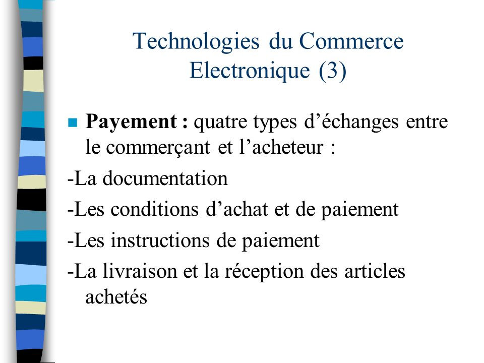 Technologies du Commerce Electronique (3)