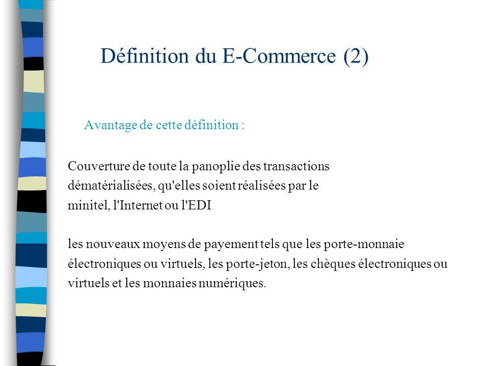 Définition du E-Commerce (2)