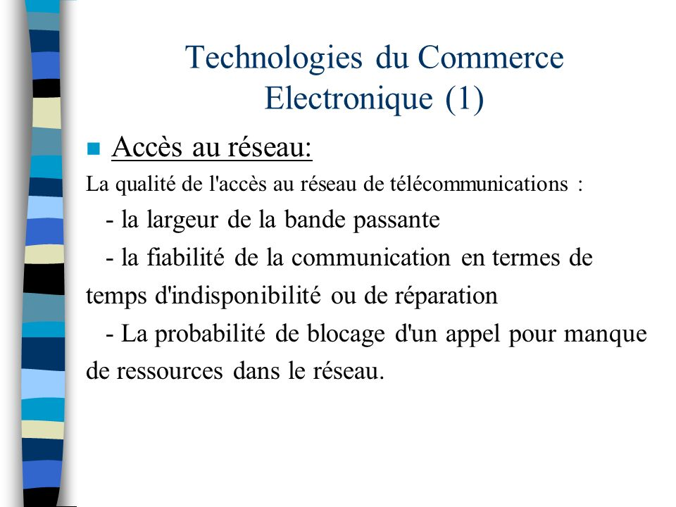Technologies du Commerce Electronique (1)
