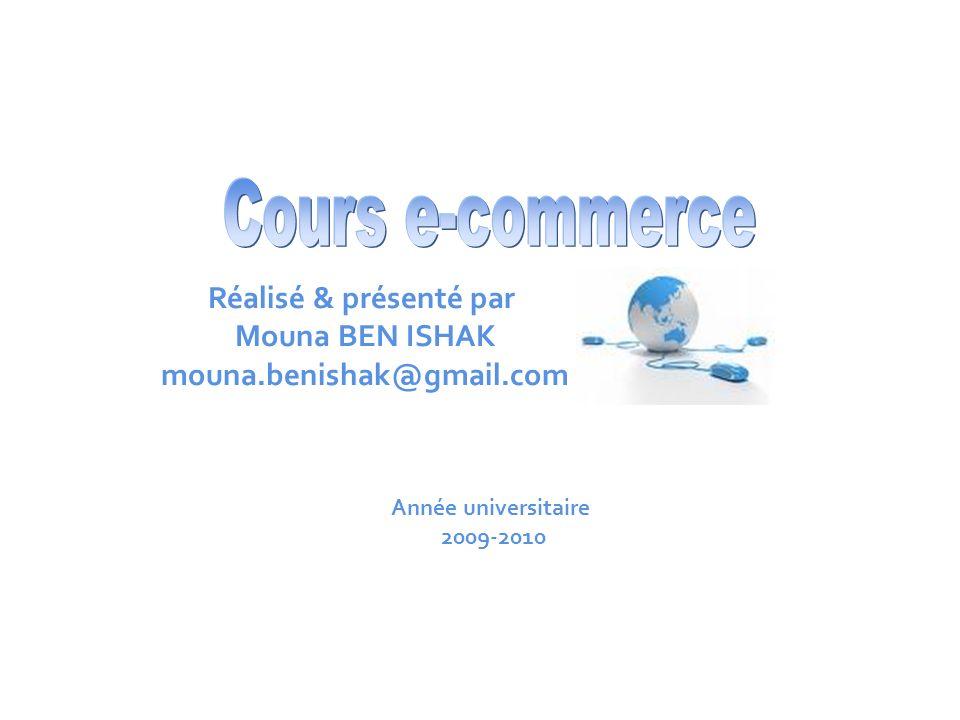 Cours e-commerce Réalisé & présenté par Mouna BEN ISHAK