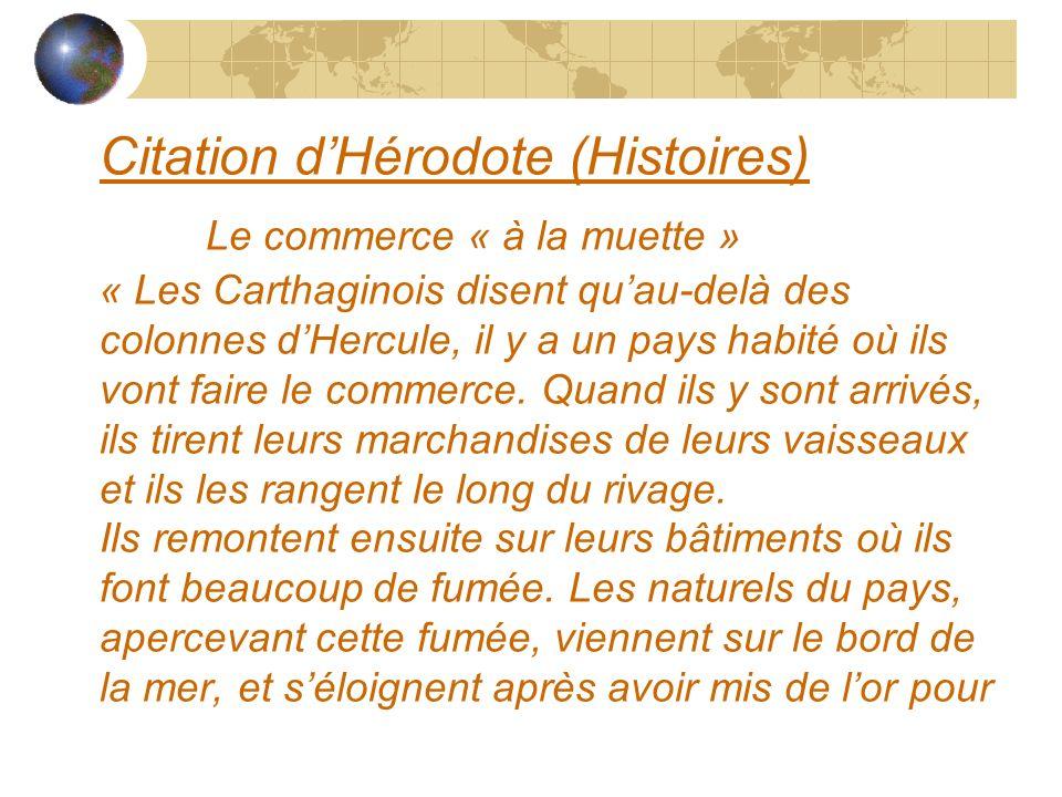Citation d'Hérodote (Histoires)