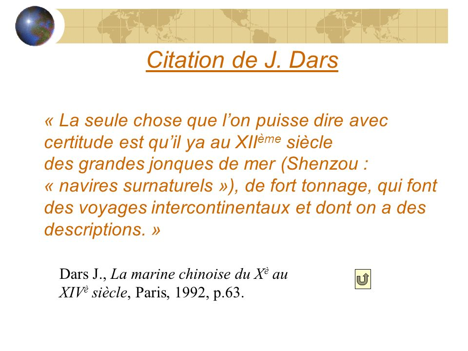 Citation de J. Dars