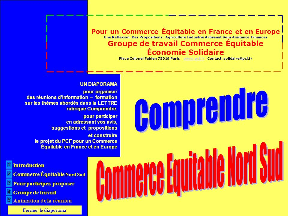 Comprendre Commerce Equitable Nord Sud
