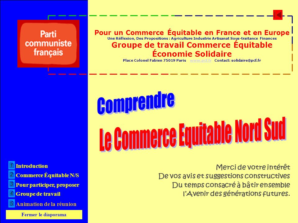 Comprendre Le Commerce Equitable Nord Sud