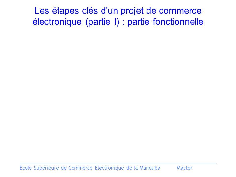 Les étapes clés d un projet de commerce électronique (partie I) : partie fonctionnelle