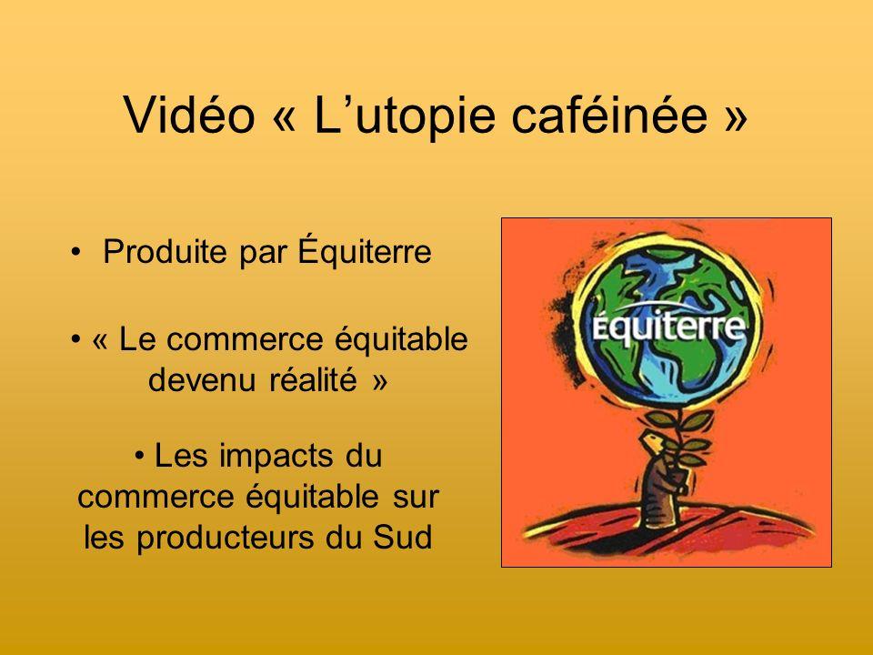 Vidéo « L'utopie caféinée »