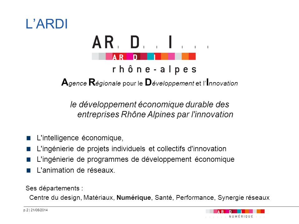 Agence Régionale pour le Développement et l'Innovation