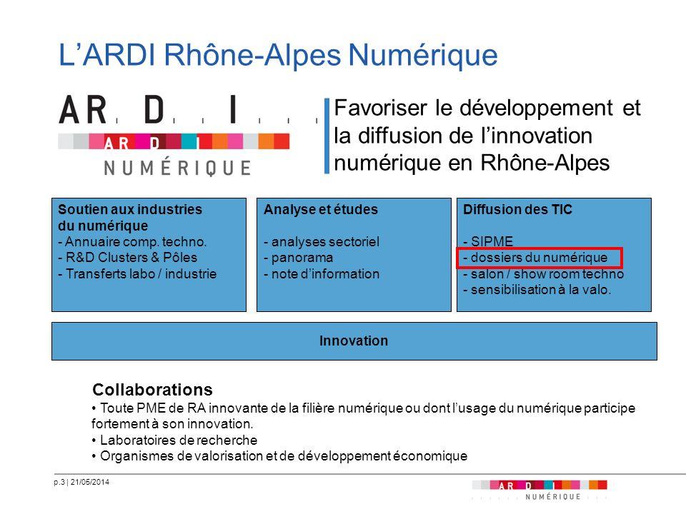 L'ARDI Rhône-Alpes Numérique
