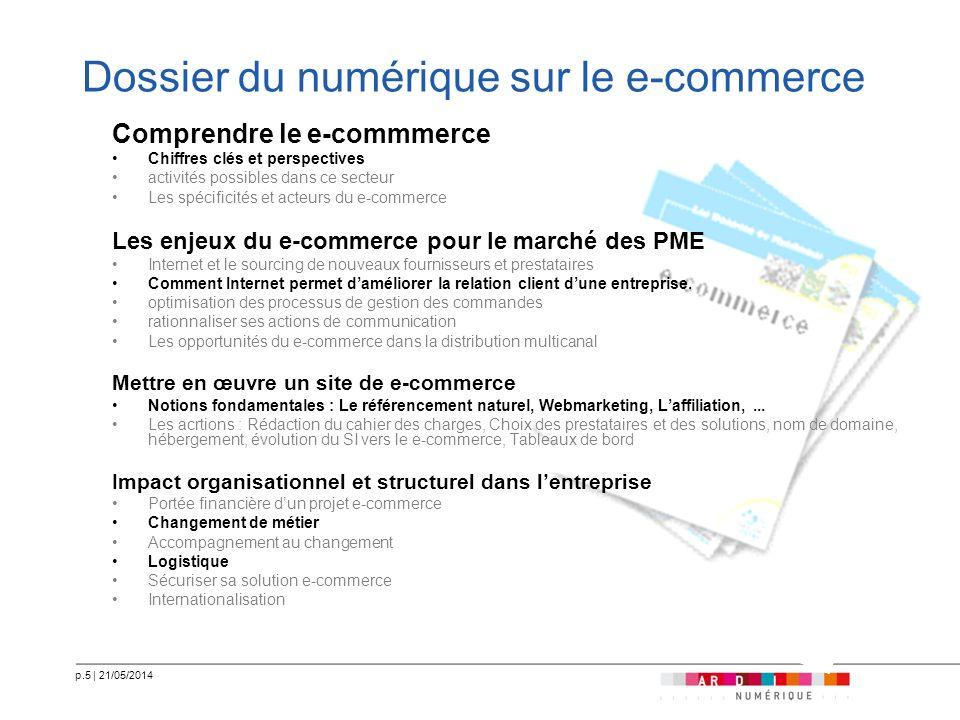 Dossier du numérique sur le e-commerce