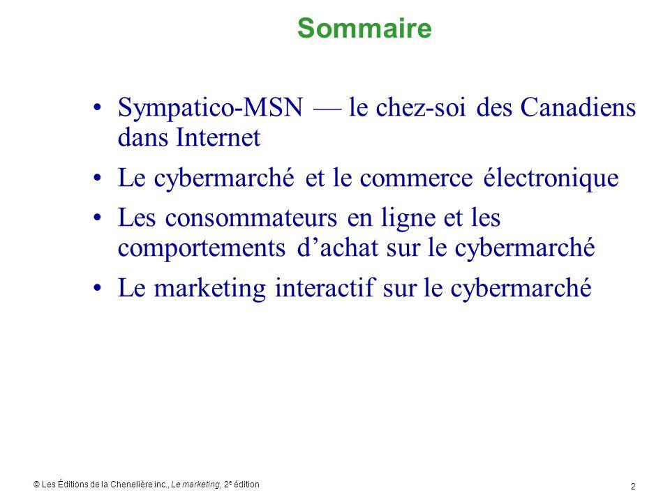 Sympatico-MSN — le chez-soi des Canadiens dans Internet