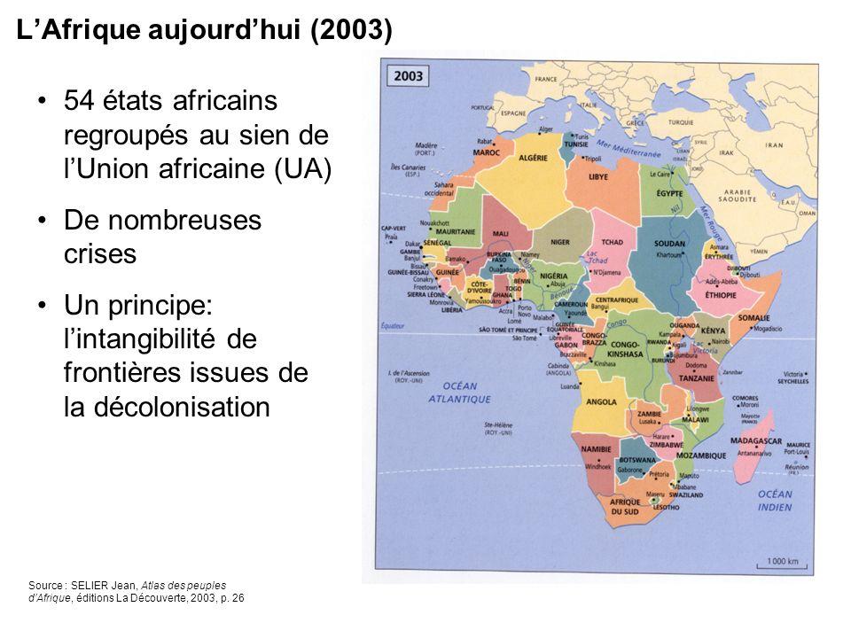 L'Afrique aujourd'hui (2003)