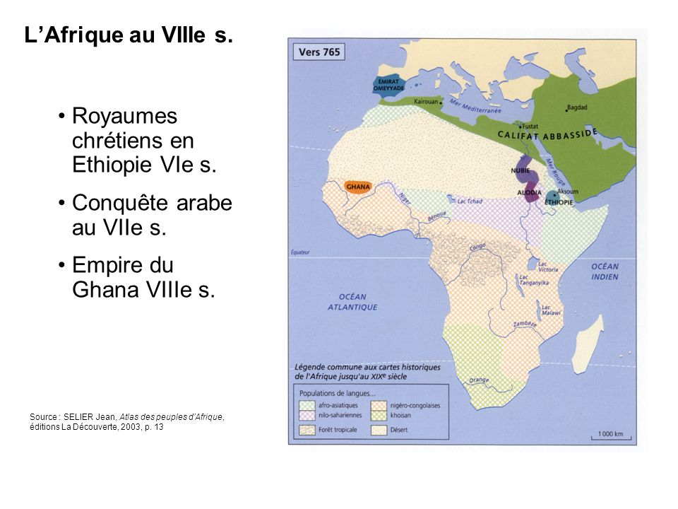 Royaumes chrétiens en Ethiopie VIe s.