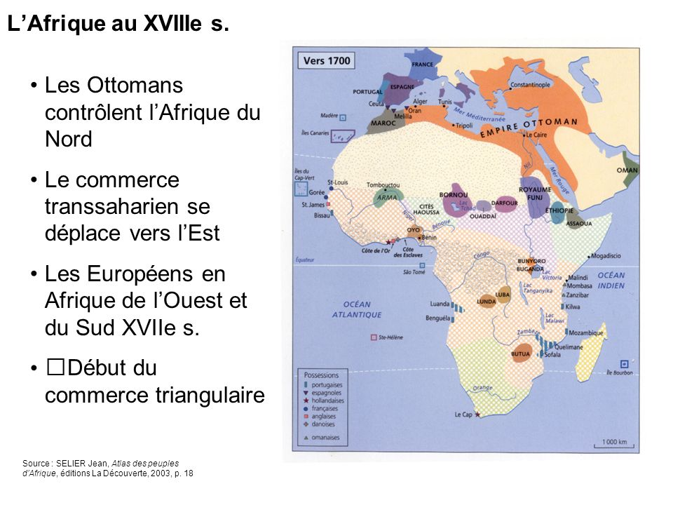 Les Ottomans contrôlent l'Afrique du Nord