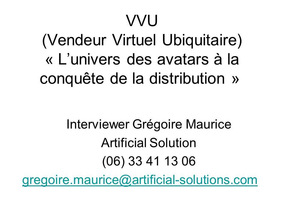 Interviewer Grégoire Maurice